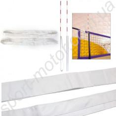 Карманы для волейбольных антенн белые