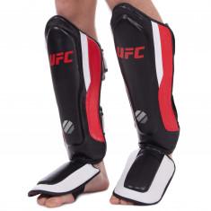 Защита для голени и стопы UFC PRO Training кожаная