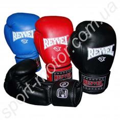 Перчатки боксерские REYVEL PRO 12oz кожзам