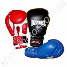 Перчатки боксерские REYVEL 6oz кожзам