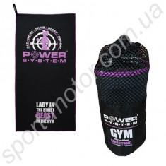 Фитнес-полотенце Pink Power System