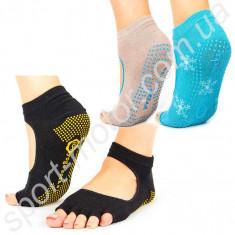 Носки для йоги без пальцев FI