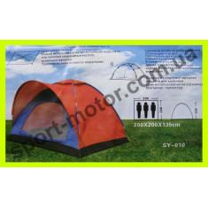 Палатка 3-х местная с козырьком