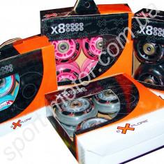 Колеса для роликов с подшипниками Explore 72 x 24 мм (8шт)