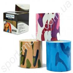 Кинезио тейп CAMO (Kinesio tape) эластичный пластырь 7,5см х 5м