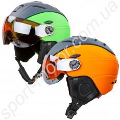 Шлем горнолыжный с визором MOON MS-6296