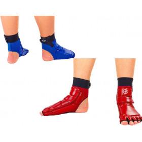 Защита стопы WTF красный синий