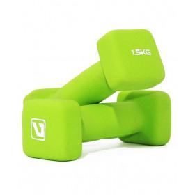 Гантели для фитнеса 1.5 кг SQUARE HEAD (пара)