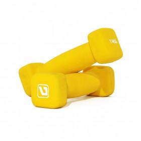 Гантели для фитнеса 1 кг SQUARE HEAD (пара)