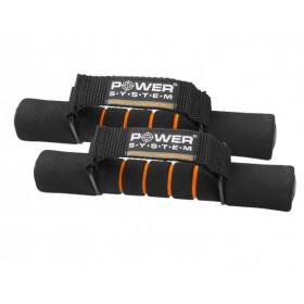 Гантели неопрен 1 кг Power System (пара)