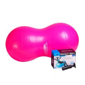 Мяч для фитнеса орех PowerPlay 90см + насос