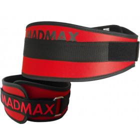Пояс атлетический Mad Max MFB-421 красный
