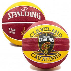 Мяч баскетбольный SPALDING NBA Team CLAVELAND CAVA size 7