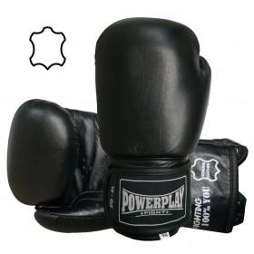 Боксерские перчатки кожаные Power Play (10, 12, 14, 16 ун)