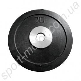 Блины (диски) обрезиненные 20 кг отверстие 51 мм