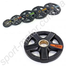 Блины (диски) профессиональные 5 кг отверстие 51 мм