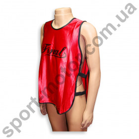 Манишка для футбола красная L\XL