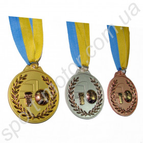 Медаль за 1, 2, 3 место Баскетбол 56g