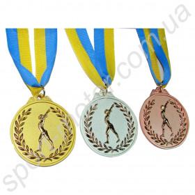 Медаль за 1, 2, 3 место Гимнастика 56g