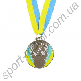 Медаль спортивная 2 место 61g