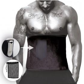Пояс для похудения SLIMMER BELT 125 х 30 см с карманом для телефона