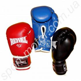 Перчатки боксерские REYVEL 8oz кожзам