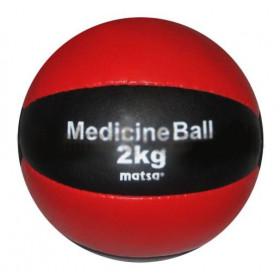 Мяч медицинский MATSA 2кг кожа