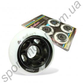 Колеса для роликов ZELART 70 х 24мм