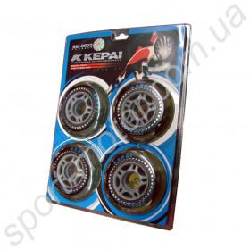 Колеса для роликов (4шт) KEPAI SK-0720  72 х 24мм