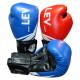 Перчатки боксерские LEV NEW 10ун, 12ун, 14oz кожа+стрейч