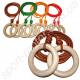 Гимнастические кольца подвесные детские