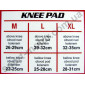Наколенник защитный Elastic Knee Pad